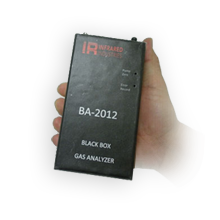 BA-2012, Infrared Industries First Black Box Gas Analyzer