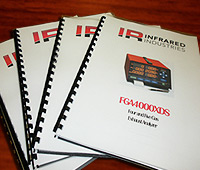Operator's Manuals for Infrared Technology Products