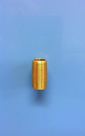 Brass Union for Dual Filter Assembly