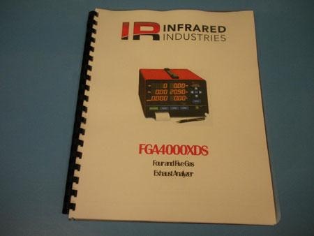 FGA4000XDS Operator's Manual